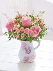 Vintage Chic Rose Jug