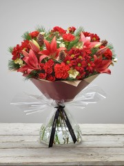 Large Christmas Cracker Hand-tied