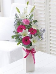 Grandparents' Day Pastel Vase Arrangement