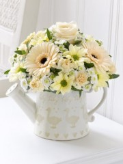 Little Duckling Watering Can - Cream